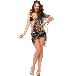 Leg Avenue Bollywood Darling Adult Costume - Black