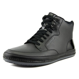 Rockport Harbor Point Mid Cut Men Round Toe Leather Sneakers