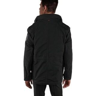 Strellson Mens Parka Coat Winter Wool - 56