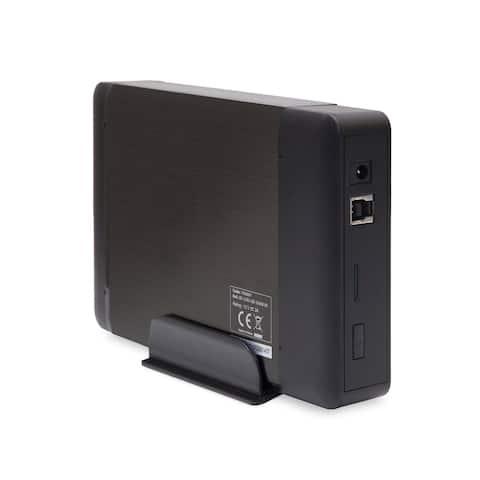 "External USB 3.0 Enclosure for 3.5"" SATA III Hard Drives - Black Brushed Aluminum"