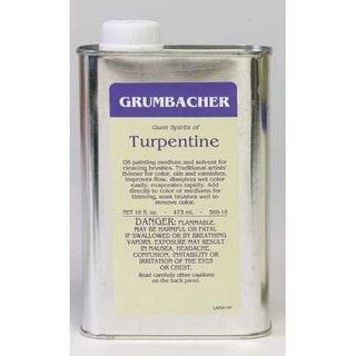 Grumbacher - Turpentine - 8 oz.