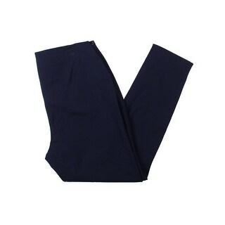 Lauren Ralph Lauren Womens Plus Casual Pants Stretch Elastic Waistband