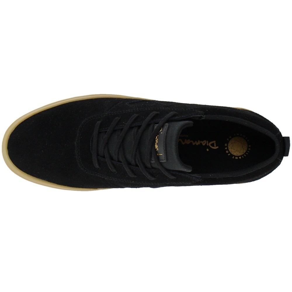Icon Diamond Supply Co Gum Sneakers Casual Mens Black
