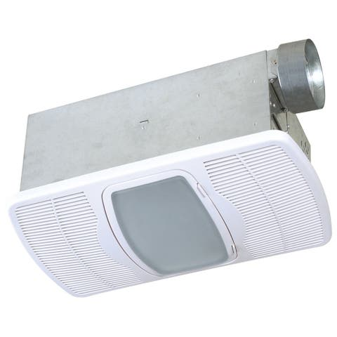 Air King AK964 70 CFM 3.5 Sone Ceiling Mounted Exhaust Fan with 5000 BTU Heater and Light