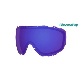 Smith Optics Prophecy Turbo Ski Goggle - Replacement Lens - ChromaPop Everyday Violet Mirror - PR5CPV2