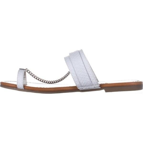 G by Guess Womens Loren Open Toe Casual Slide Sandals