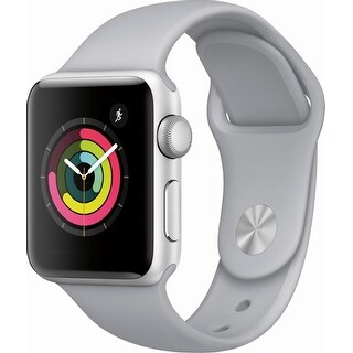 Apple Watch Series 3 (GPS), 38mm Aluminum Case with Sport Band