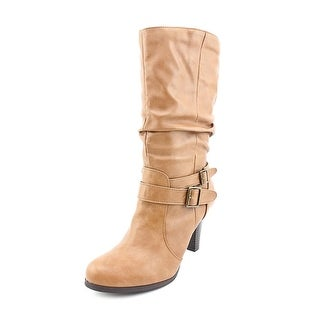 Style & Co Mickay Round Toe Synthetic Mid Calf Boot