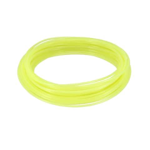 10 Meter/32.5 Ft PLA 3D Pen/3D Printer Filament, 1.75 mm Luminous Yellow