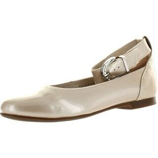 Venettini Girls 55-Gizel Designer Ankle Strap Flats Shoes