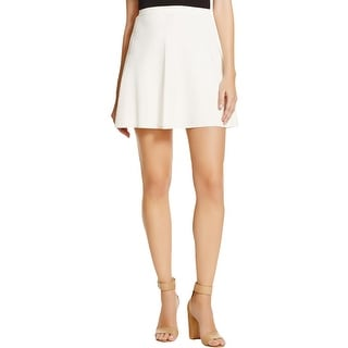 Theory Womens Arryn A-Line Skirt Ribbed Above Knee