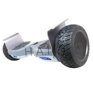 "Hoverboard 8.5"" Two-Wheel Self Balancing All-Terrain Alloy Wheel Electric Scooter UL 2272 Certified with Bluetooth Speaker