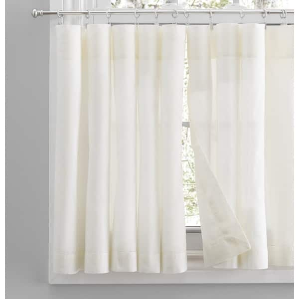 https www overstock com home garden simplicity rod pocket kitchen curtains tier swag or valance sold separately 31826739 product html