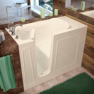 Tub King Walk In Tubs. Avano AV2653LS Walk In Tubs 52 3 4  Gel Coated Soaking Bathtub For Less Overstock com