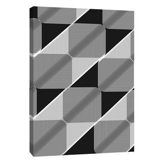 "PTM Images 9-105836  PTM Canvas Collection 10"" x 8"" - ""Linear Motion 1"" Giclee Abstract Art Print on Canvas"