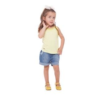 Toddler Girl Lace Tank Top Little Girls Sleeveless Shirt Pulla Bulla 1-3 years