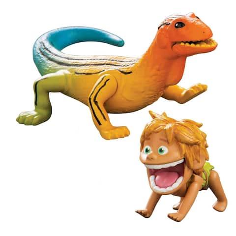Disney's The Good Dinosaur Small Action Figure: Spot & Lizard - Multi