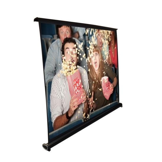 40-inch Projector Viewing Display Screen, Manual Retractable Pull-Out Style (32'' x 24'')