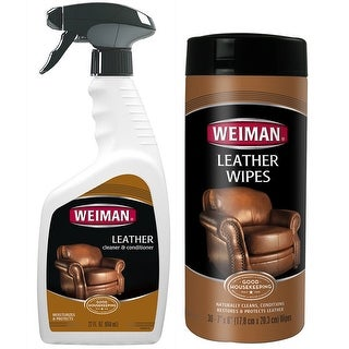 Weiman WP00871 Weiman Leather Cleaner & Conditioner Care Set