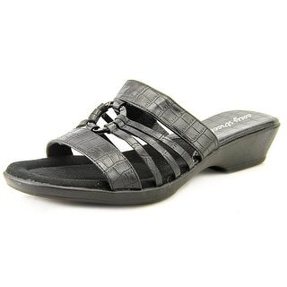 Easy Street Scorch Women Open Toe Synthetic Black Slides Sandal