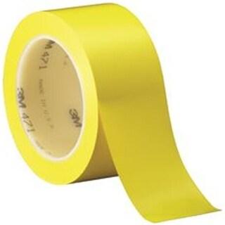 3M 1028550 3M 471 Vinyl Tape, Yellow - 2 in. x 36 Yards