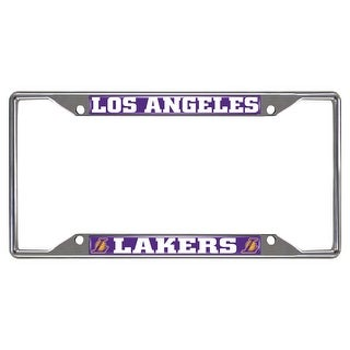 "NBA - Los Angeles Lakers License Plate Frame 6.25""x12.25"""