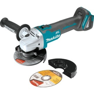 """Makita XAG04Z 18V LXT Lithium-Ion Brushless Cordless 4-1/2"""", 5"""" Cut-Off Grinder - TEAL"""
