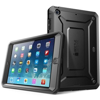 iPad Mini 4 Case, SUPCASE,Apple iPad Mini 4 Case 2015, Unicorn Beetle PRO Series, full body, protective case-Black/Black