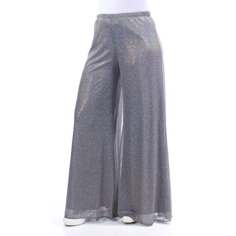 Womens Silver Party Pants Size XL