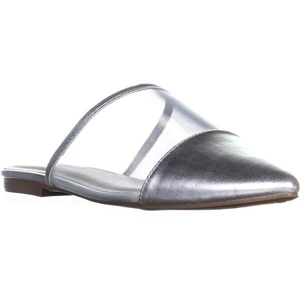 more photos a20d1 93803 Shop ESPRIT Maggie Pointed Toe Flat Sandals, Silver - 9 us ...