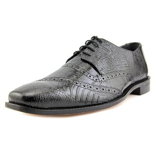 Stacy Adams Garzon Men Round Toe Leather Black Oxford