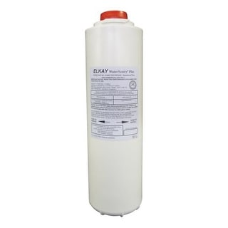 Elkay 51300C Replacement Filter Cartridge for WaterSentry Plus Filtration System in EZH20 Bottle Fillers