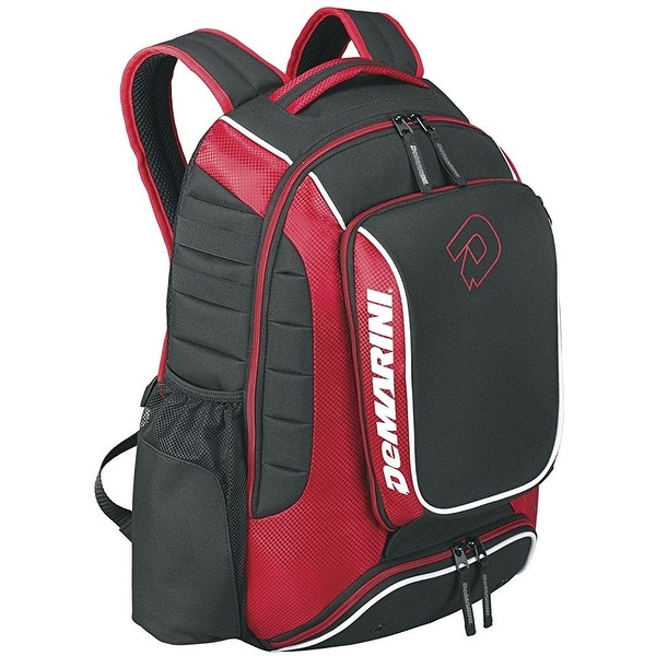 DeMarini Momentum Baseball Backpack (Scarlet Red)