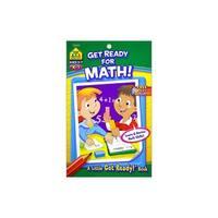 School Zone LGR Get Ready For Math Bk