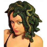 Adult Latex Costume Wig Medusa - Multi
