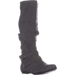 Cliffs By White Mountian Fairfield Knee High Boots, Charcoal