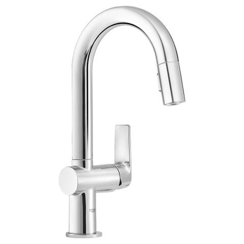Grohe 30 377 Defined 1.75 GPM Single Hole Pull Down Kitchen Faucet