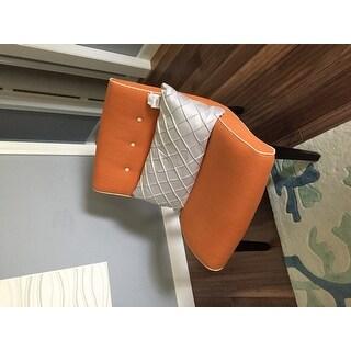 Safavieh Mid-Century Noho Orange Lounge Chair