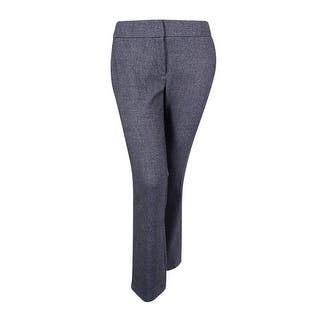 Alfani Women's Plus Size Tweed Straight-Leg Trousers - speckle yarndye|https://ak1.ostkcdn.com/images/products/is/images/direct/11743f8353765213a411091049058e1de7f6d6b6/Alfani-Women%27s-Plus-Size-Tweed-Straight-Leg-Trousers.jpg?impolicy=medium