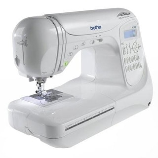 Brother Project Runway Pc420prw 294-Stitch Professional Grade Computerized Sewing Machine With 3 Built-In Lettering Styl