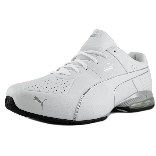 Puma Cell Surin 2 Fm Men Round Toe Leather White Sneakers