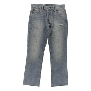Levi's Womens Flare Jeans Denim Distressed