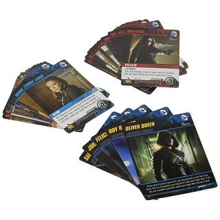 DC Comics Deck-Building Card Game, Arrow Crossover Expansion Pack 2 - multi