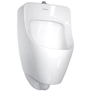 Sloan SU-7009-A Efficiency Dual Flush 0.125 to 0.5 GPF Small Urinal with Top Spud Placement