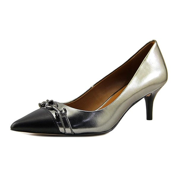 0f9e408fd Shop Coach Lauri Pointed Toe Leather Heels - Free Shipping Today ...
