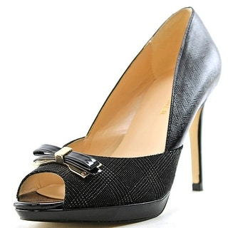 Marc Fisher Marsha 2 Peep-Toe Synthetic Heels