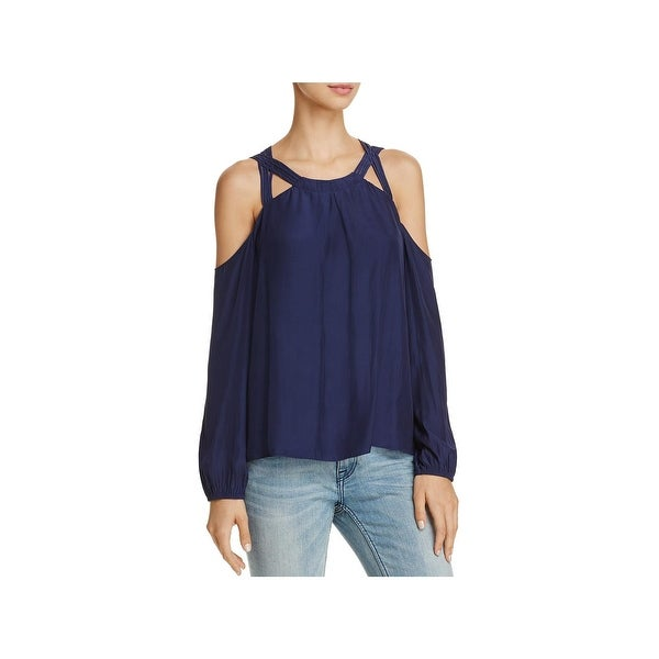 371aae4710248 Shop Ramy Brook Womens Pullover Top Cold Shoulder Long Sleeves ...