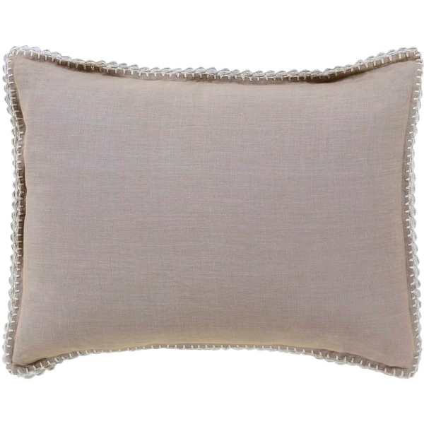 "26"" Elephant Gray Colored Envelope Closure Standard Size Pillow Sham"