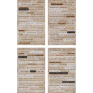 "Idea-Ology Clippings Stickers 5""X9.5"" 4/Pkg-Halloween"