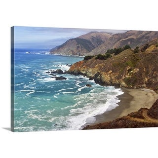 """California coast"" Canvas Wall Art"
